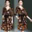 เดรสเกาหลี พร้อมส่ง Dress คอวี แขน 3 ส่วน thumbnail 14