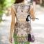 พร้อมส่ง Long Dress สีโอโรส thumbnail 5