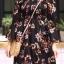 ชุดเดรสเกาหลี พร้อมส่ง dress ปริ้นลายดอก thumbnail 18
