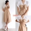 เดรสเกาหลี พร้อมส่ง New 2 Tone Dress thumbnail 4