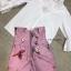 เสื้อผ้าเกาหลี พร้อมส่ง จั้มปลายแขนพองๆ กับ กางเกงเอวสูง thumbnail 7