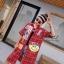 เดรสเกาหลี พร้อมส่ง Dress คอปกเชิ๊ต ลายสก๊อต thumbnail 14