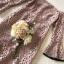 ชุดเดรสเกาหลี พร้อมส่ง เดรสผ้าลูกไม้ โทนสีนู๊ดทอลายโปร่ง thumbnail 8
