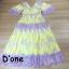 ชุดเดรสเกาหลี พร้อมส่ง Dress แขนสั้น คอวี thumbnail 6