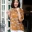 เสื้อเกาหลี พร้อมส่ง เสื้อญี่ปุ่น เนื้อนิ่มทอลายดอกวินเทจ thumbnail 1