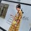 เดรสเกาหลี พร้อมส่ง Dress คอปกเชิ๊ต ลายสก๊อต thumbnail 6