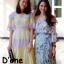 ชุดเดรสเกาหลี พร้อมส่ง Dress แขนสั้น คอวี thumbnail 5