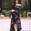 ชุดเดรสเกาหลี พร้อมส่ง dress ปริ้นลายดอก thumbnail 5