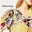 พร้อมส่ง มินิเดรสงานผ้าปริ้นสี แต่งลายดอกไม้ thumbnail 5