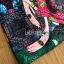 เดรสเกาหลี พร้อมส่ง มินิเดรส ผ้าโบรเคดพิมพ์ลายสีสดใส thumbnail 16
