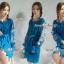 ชุดเดรสเกาหลี พร้อมส่ง เดรส ปักเกาหลี ผ้าเนื้อดีหนานุ่มมีน้ำหนัก thumbnail 7