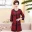 เสื้อผ้าเกาหลี พร้อมส่ง เสื้อคลุม ตัวยาว คอกลม แขน 5 ส่วน thumbnail 4