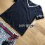 พร้อมส่ง เสื้อยืดสีดำและกางเกงลายทาง thumbnail 6