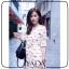 เดรสเกาหลี พร้อมส่ง Dress ทรงสอบยาวคลุมเข่า thumbnail 10