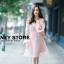 ชุดเดรสเกาหลี พร้อมส่ง ชุดเปิดไหล่ style เจ้าหญิง ฟูฟ่อง thumbnail 15