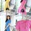 เดรสเกาหลี พร้อมส่ง Maxi dress ด้านหลังเป็นโบว์ thumbnail 13