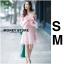 ชุดเดรสเกาหลี พร้อมส่ง ชุดเปิดไหล่ style เจ้าหญิง ฟูฟ่อง thumbnail 2