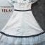 ชุดเดรสเกาหลี พร้อมส่ง Dress ผ้าลูกไม้ทอปัก thumbnail 4