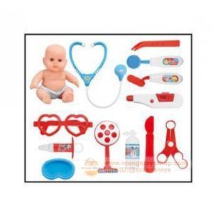 ชุดเก้าอี้เครื่องมือแพทย์พร้อมตุ๊กตา Doctor Play Set