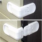 GK357 ที่ล็อคตู้สิ่งของ ป้องกันเด็กทารกเปิดตู้เอง เพื่อป้องกันอุบัติเหตุที่ไม่คาดฝัน ขนาด 7 ซม.