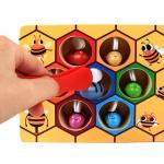 ของเล่นไม้ เกมคีบผึ้ง