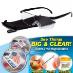 แว่นตา แว่นขยาย แว่นอ่านหนังสือ big vision glasses น้ำหนักเบา