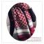 PR157 ผ้าพันคอแฟชั่น ผ้าไหมพรม พิมพ์ลายสวย ขนาด ยาว 190 กว้าง 65 cm. thumbnail 3