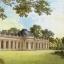 แนวภาพศิลปะ ภาพอาคารยุโรปย้อนยุค กับสวน เป็นภาพเต็มแผ่น กระดาษแนพกิ้นสำหรับทำงาน เดคูพาจ Decoupage Paper Napkins ขนาด 33X33cm thumbnail 1