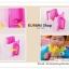 GK362 กล่องกันบีบกล่องนมเด็ก กล่องกันบีบ สำหรับฝึกน้องหัดดูดนมกล่องไม่ให้หกเลอะเทอะ ขนาดฟรีไซส์ ใส่ได้ทั้งกล่องนมและกล่องน้ำผลไม้ ให้เด็กๆถือกล่องได้สะดวก สีเขียวและสีชมพู สามารถปรับขนาดตามขนาดของกล่องได้ thumbnail 3