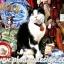 กระดาษสาพิมพ์ลาย สำหรับทำงาน เดคูพาจ Decoupage แนวภาำพ น้องแมว Jessi ทำหน้าที่ช่วยเจ้านายขายของเก่า ในร้านขายของ Antique thumbnail 1