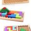 ของเล่นไม้ บล็อคไม้เกมส์Tetris Katamino thumbnail 3