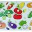 จิ๊กซอว์ไม้หมุดดึงภาพผัก thumbnail 3